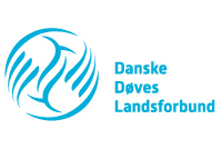 Danske Døves Landsforbund logo